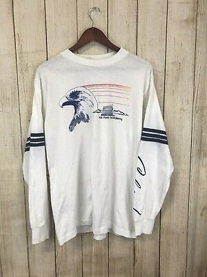 Vintage US Air Force Academy Colorado T Shirt Men's L 90's 80's USA