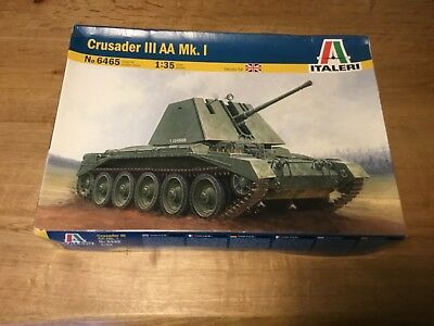 ITALERI 6465 British Crusader III AA MKI 1//35 scale plastic model kit