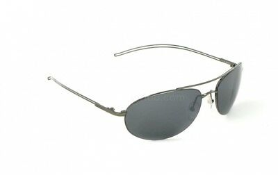 5b0846878dc Vuarnet Mens VL 1040 0002 Gunmetal Aviator Polarized Grey Sunglasses New