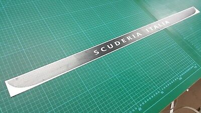 Fiat 595 500 Abarth Scuderia Italia lower Hatch Decal Sticker QUALITY any colour
