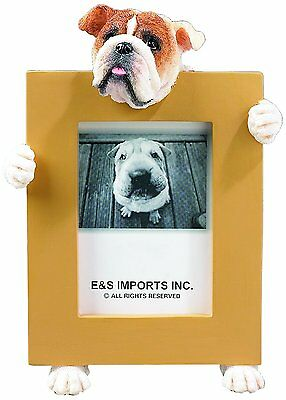English Bulldog Dog Picture Photo Frame