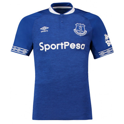 "Everton Home Shirt 2018-19 ""First Class 1 Day Delivery"""