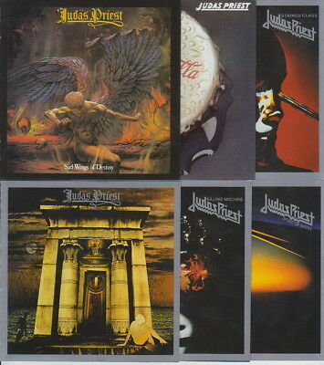 Judas Priest 6CD Set (Sad Wings Destiny, Rocka Rolla, Sin After Sin, Stained..)