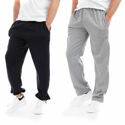 NEW Mens Fleece Jog Pants Jogging Bottoms Trousers Joggers Brushed Lining Casual