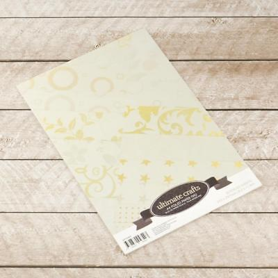 Ultimate Crafts 'SPECIAL OCCASION - FOILED PAPER PAD' 20pk (You choose pack)