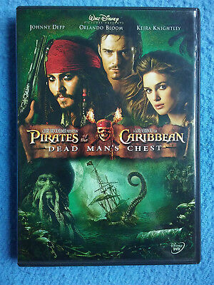 Pirates of the Caribbean 2 DEAD MAN'S CHEST Widescreen Edition DVD Movie