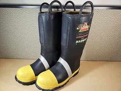 Thorogood Hellfire Boots Men's Size 9 Medium M Structural and Hazmat