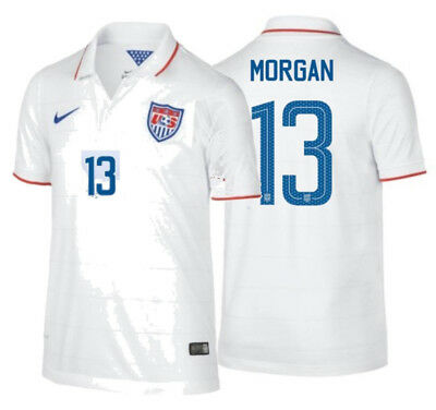check out 70e3f 93a10 NIKE ALEX MORGAN Usa Uswnt Youth Home Jersey Fifa World Cup 2014.