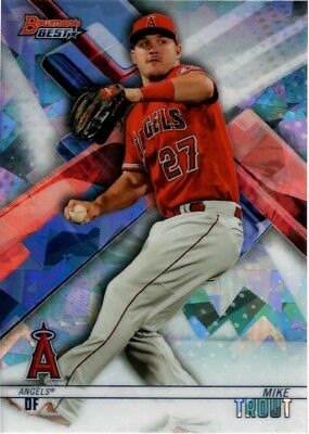 2018 Bowman's Best Atomic Refractor Singles Veteran W/ Rookie Rc - U Pick