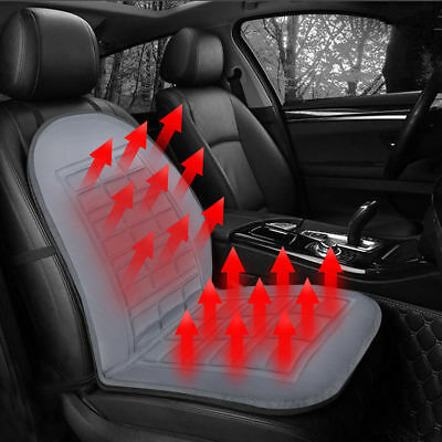 12V Heated Car Seat Cushion Cover Seat Heater Warmer Winter Household Heated