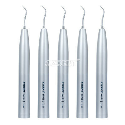 UK 5PCS Dental Kavo Sonicflex Style Torque Air Scaler Handpiece Tip SJ1 SJ2 SJ3