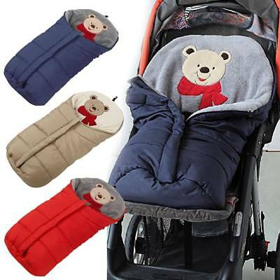 Baby Footmuff Sleeping Bag Pushchair Stroller Pram Car Seat Cot Bed Blanket Cosy