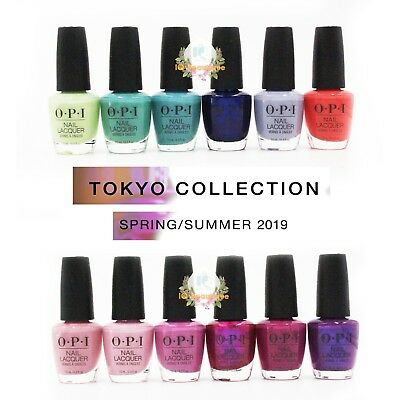 OPI Tokyo Brand New Full Collection Spring 2019 Nail Polish 12pcs No Display