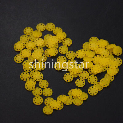 Dental Safety Yellow Memo Rotary Disc Endo file SMD 100pcs/bag 135℃ Autoclavable