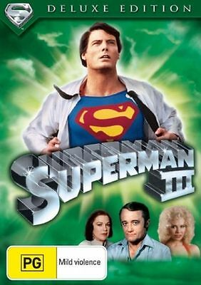 Superman 3 - Christopher Reeve - New & Sealed Region 4 DVD - FREE POST