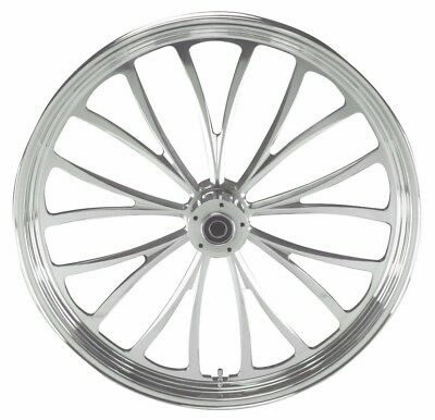 "MANHATTAN FRONT WHEEL 21 x 3.5"" HARLEY ELECTRA GLIDE ROAD KING STREET 2000-2007"