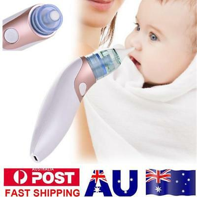 Baby Nasal Aspirator Nose Cleaner Electric USB Newborn Congestion Suction Sucker