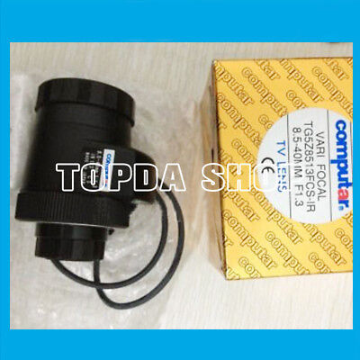 1PC Computar TG5Z8513FCS-IR 8.5-40MM F1.3 Automatic Aperture Infrared Lens#SS