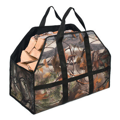 Oxford Cloth Logs Carrier Firewood Storage Package Carrier Bag Holder