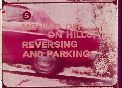 Moving Off On Hills Reversing And Parking 1969 16mm short film How To Drive P.5