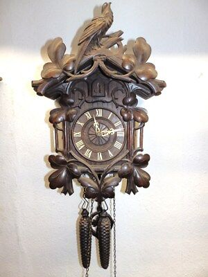 Original Black Forest Cuckoo  Clock In Nice Condition
