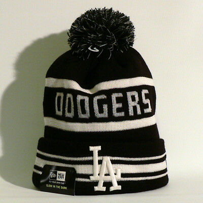 Los Angeles Dodgers Beanie / Wollmütze - New Era - Baseball - MLB - Black - Neu