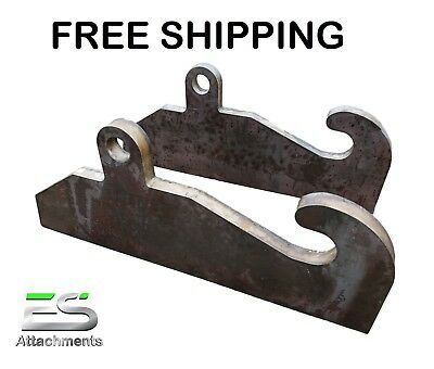 JRB 416 Quick Attach Coupler Blank Adapter JRB 416 Loader mounts FREE SHIPPING