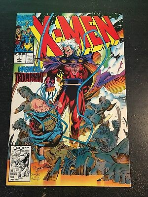 X-men#2 Incredible Condition 9.0(1991) Magneto,Jim Lee Art!!
