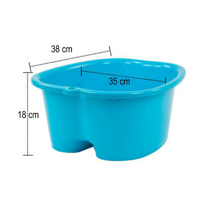 1pcs Foot Bath Practical Durable Plastic Large Foot Tub Foot Basin for Household