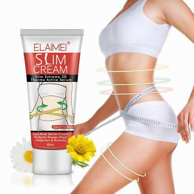 Womens Fat Burning Slimming Cream Cellulite Removal Belly Weight Loss Body Shape