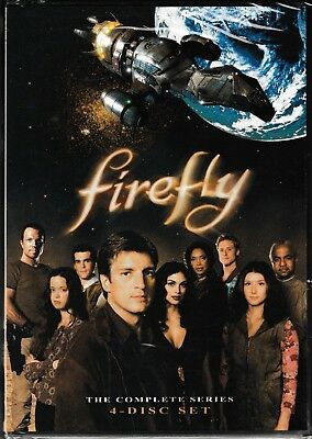 Firefly - The Complete Series (DVD, 2009, 4-Disc Set) New