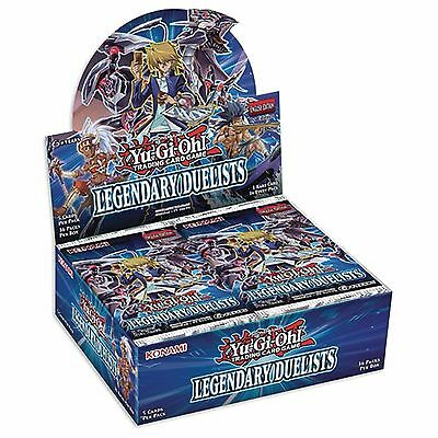 Yugioh LEGENDARY DUELISTS 1st Edition Sealed Booster Box 36 Packs
