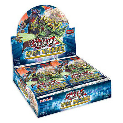 YuGiOh TCG ENGLISH 1st ed. SPIRIT WARRIORS Factory Sealed Booster Box (24 Packs)
