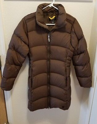 a45b9d5eae Mountain Hardwear Brown S Long Women s Down Jacket Ski Puffer Coat Small