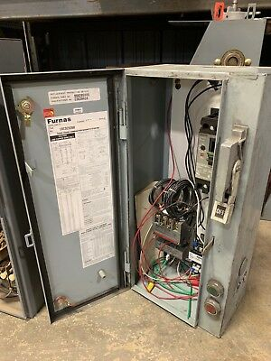 Furnas 18Csc92Ba Motor Control Combination Starter Enclosure   B258