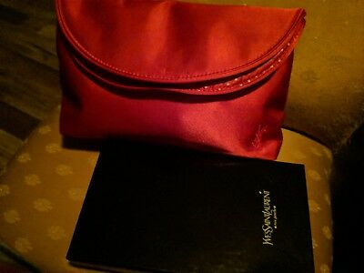 d1664b64560 AUTHENTIC YSL RED satin shoes- beautiful!! - $100.00 | PicClick