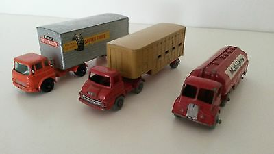 Matchbox Modelle 3x Major Pack / Konvolut No.M-2b+M-7a+M-8a 1960-66 ohne OVP