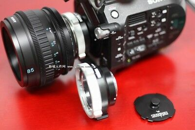 SONY PL movie lens SCL-P85T20 85mm Gift PL-E Lens adapter
