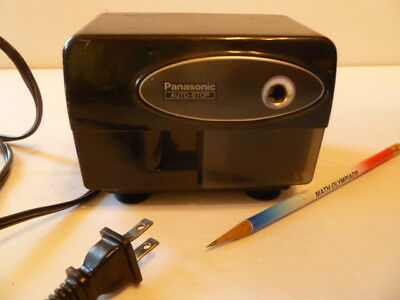 Panasonic Electric Pencil Sharpener Model KP-310 with Auto-Stop