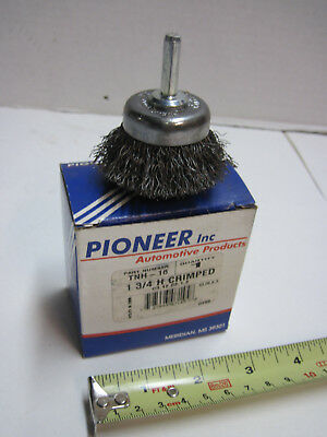 "1 3/4"" Metal Wire H Crimped End Brush For Grinder Drill Pioneer TNH-16 13000 RPM"