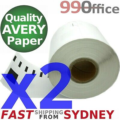 2x Compatible Dymo SD99014 Rolls, 54x101mm, 220 labels per roll, eParcel Sydney