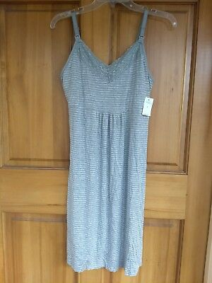 Womens Gap Maternity Nursing Nightgown Small New With Tags
