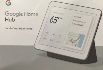 New Google - Home Hub with Google Assistant - Charcoal - GA00515-US