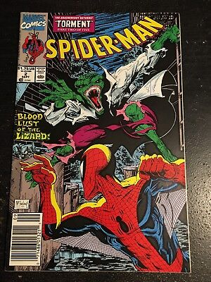 Spider-man#2 Awesome Condition 7.5(1990) Lizard,Mcfarlane Art!!