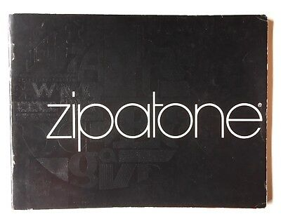 1974 ZIPATONE Catalog Dry Transfer Lettering & Shading Films Graphic Design