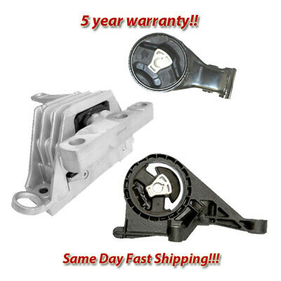 Motor &Trans Mount for 13-17 Cadillac XTS/ 14-17 Chevy Impala 3.6L FWD for Auto.