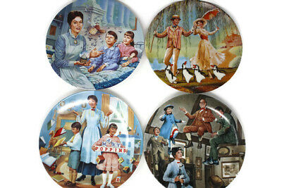Mary Poppins Knowles Collectors Plates Set Of 4