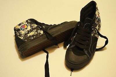 1352529cdc2aa0 VANS LX MADRID Mad Fly Uk 8 Eur 42 Us 9 Mens Black Sk8-Hi Vault ...