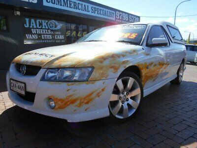 2006 Holden Commodore VZ MY06 S Thunder White Automatic 4sp A Utility