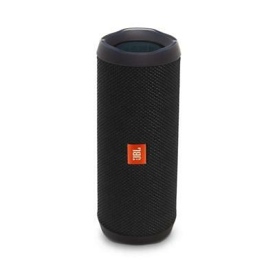 JBL Flip 4 Waterproof Bluetooth Portable Speaker (Black)